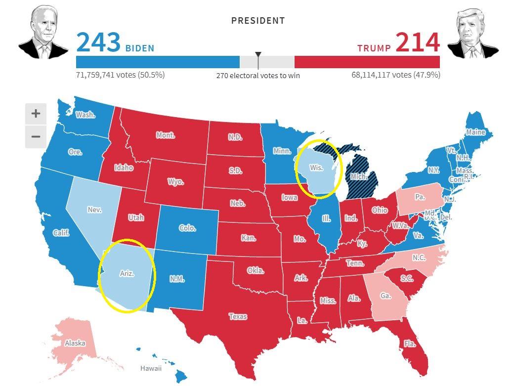 [LIVE] Bầu cử Mỹ: Vì sao hỗn loạn thông tin về số phiếu của mỗi ứng viên? - Ảnh 3.