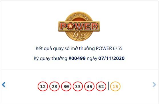 Kết quả Vietlott Power 6/55 ngày 7/11: Cả 2 giải Jackpot đều hụt chủ nhân - Ảnh 1.