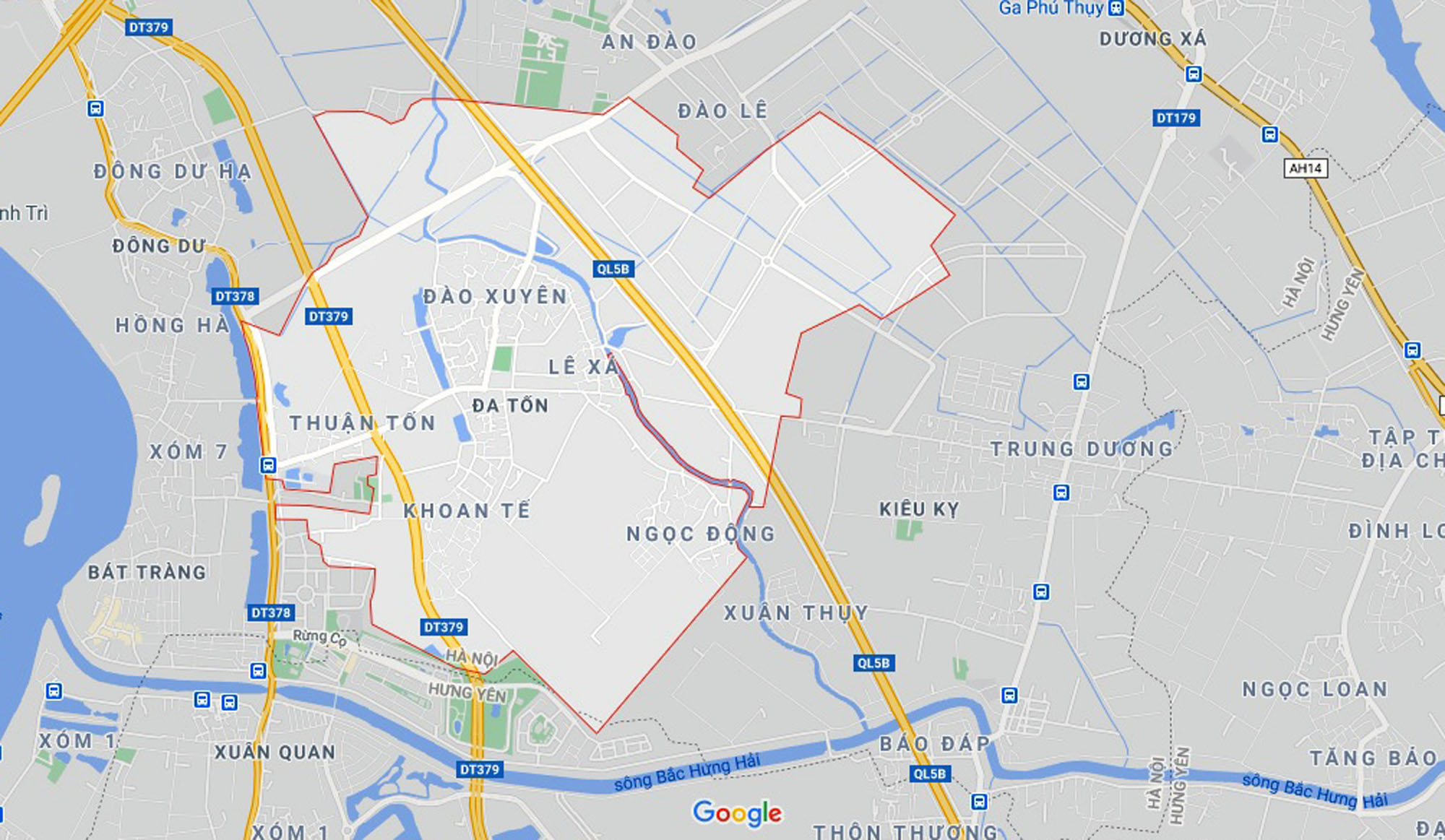 đường sẽ mở theo qui hoạch ở xã Đa Tốn, Gia Lâm, Hà Nội - Ảnh 1.