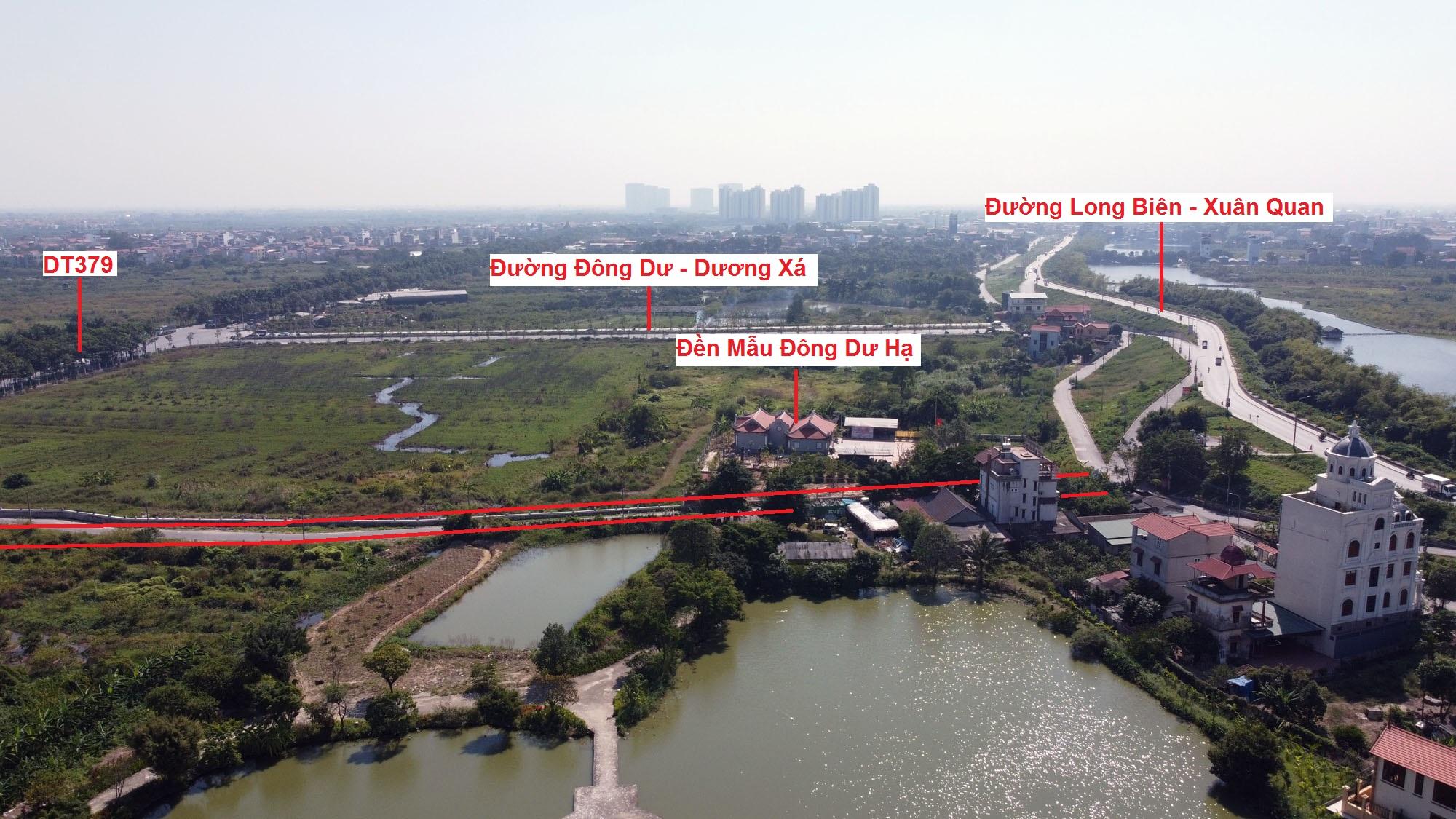 đường sẽ mở theo qui hoạch ở xã Đông Dư, Gia Lâm, Hà Nội - Ảnh 3.