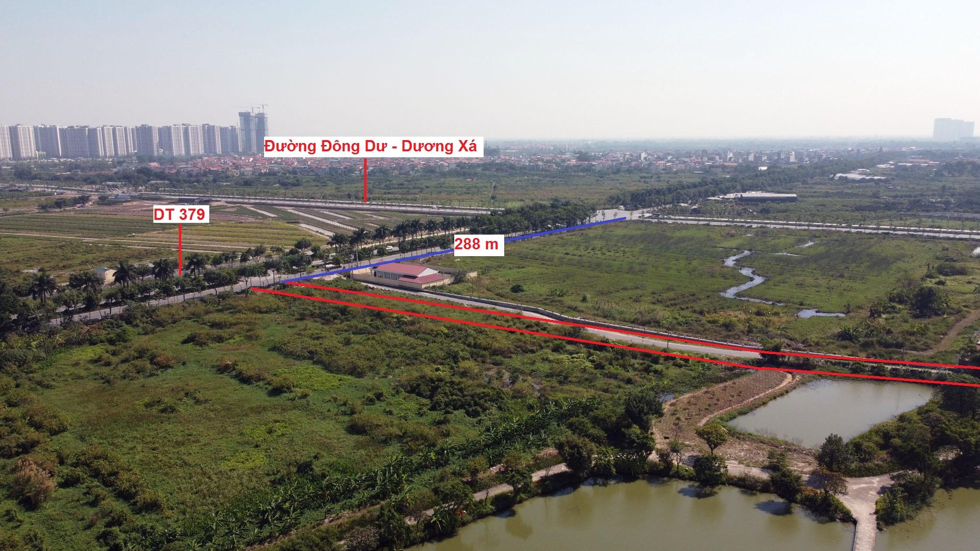 đường sẽ mở theo qui hoạch ở xã Đông Dư, Gia Lâm, Hà Nội - Ảnh 4.
