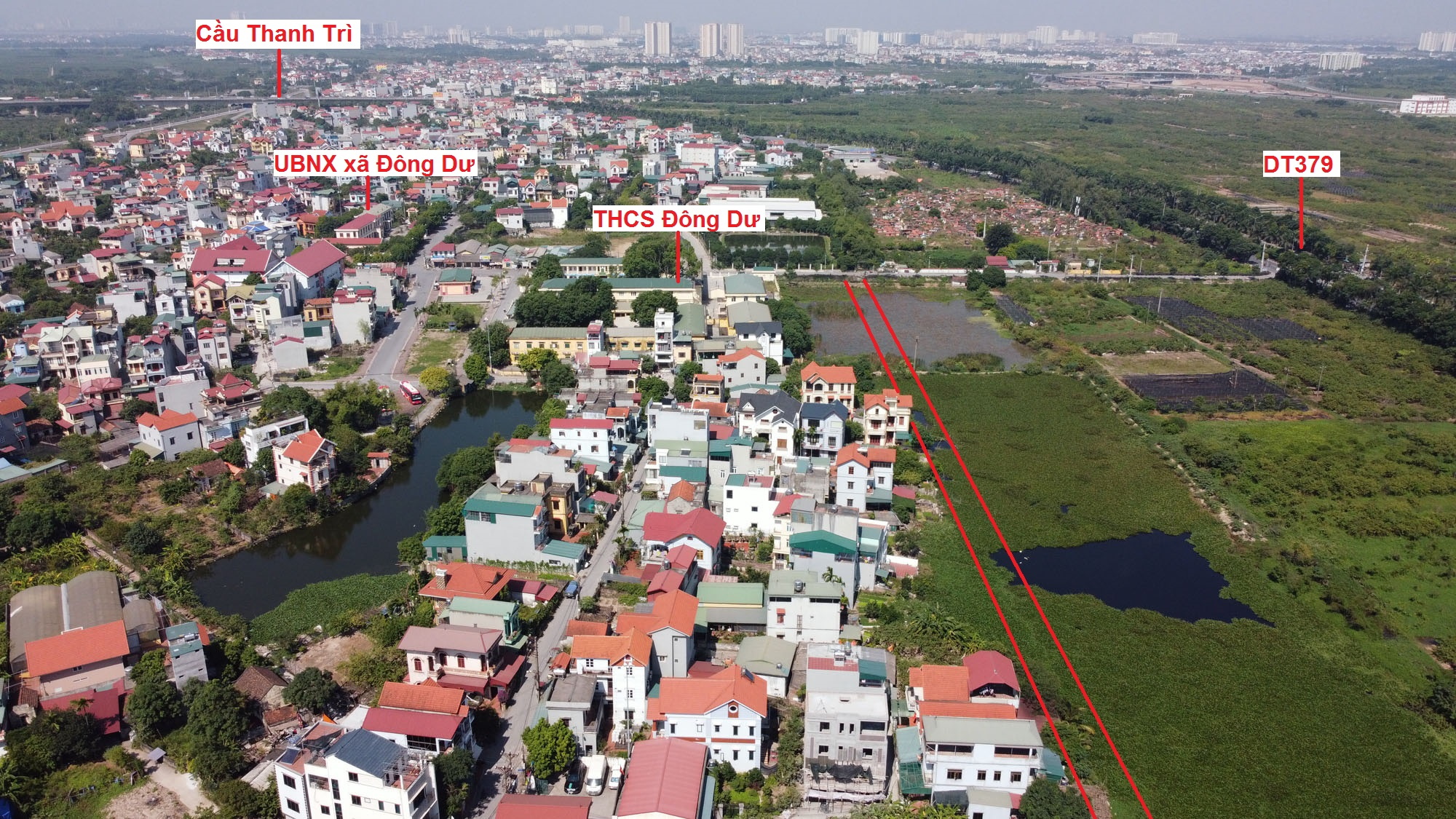 đường sẽ mở theo qui hoạch ở xã Đông Dư, Gia Lâm, Hà Nội - Ảnh 6.
