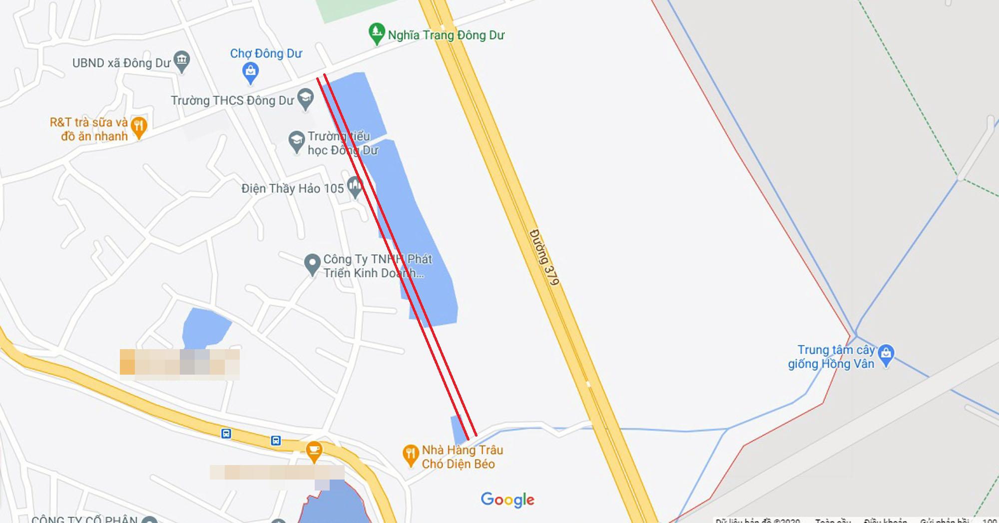 đường sẽ mở theo qui hoạch ở xã Đông Dư, Gia Lâm, Hà Nội - Ảnh 5.