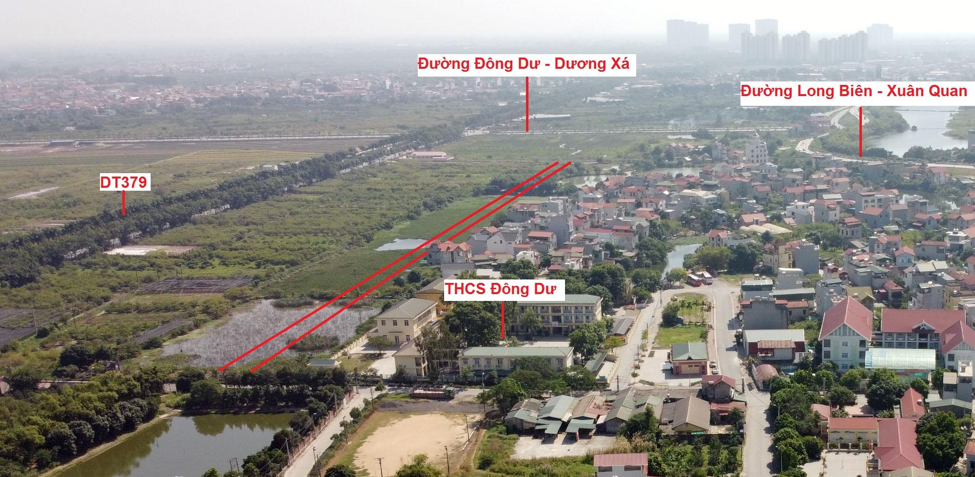 đường sẽ mở theo qui hoạch ở xã Đông Dư, Gia Lâm, Hà Nội - Ảnh 8.