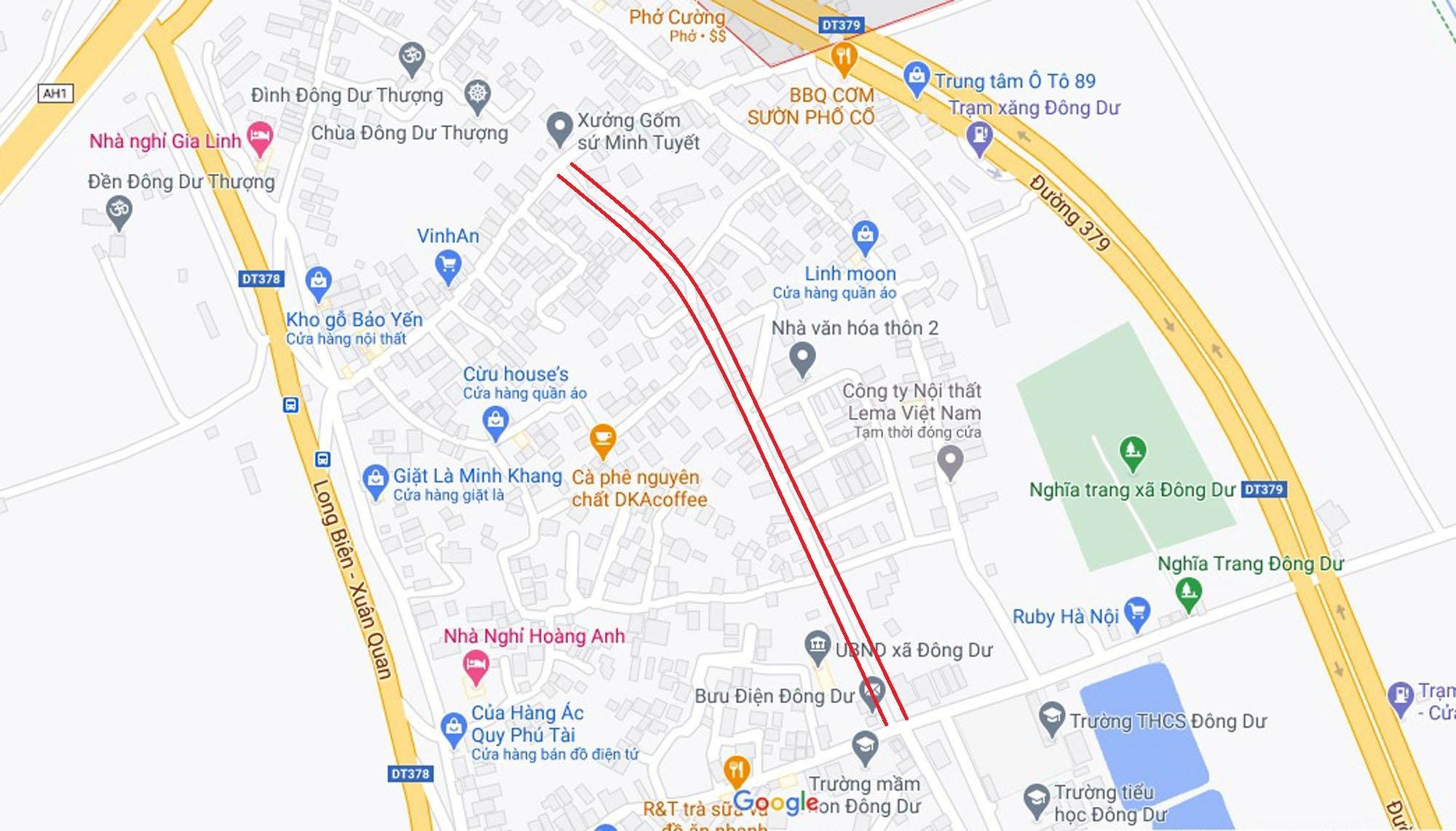 đường sẽ mở theo qui hoạch ở xã Đông Dư, Gia Lâm, Hà Nội - Ảnh 9.