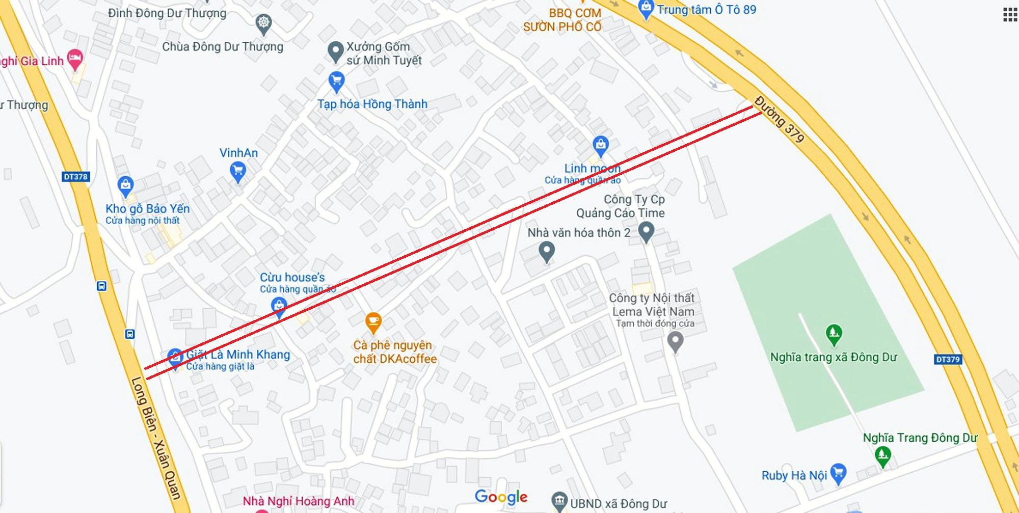 4 đường sẽ mở theo qui hoạch ở xã Đông Dư, Gia Lâm, Hà Nội - Ảnh 5.