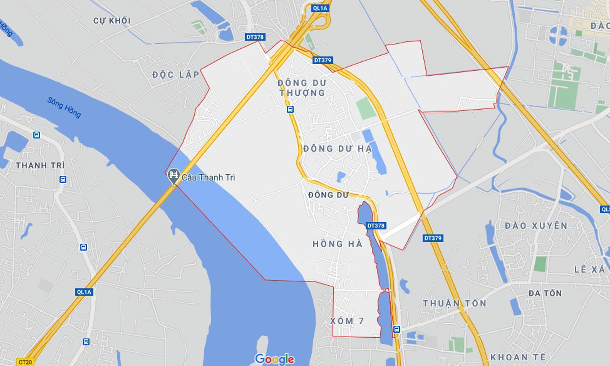 đường sẽ mở theo qui hoạch ở xã Đông Dư, Gia Lâm, Hà Nội - Ảnh 1.