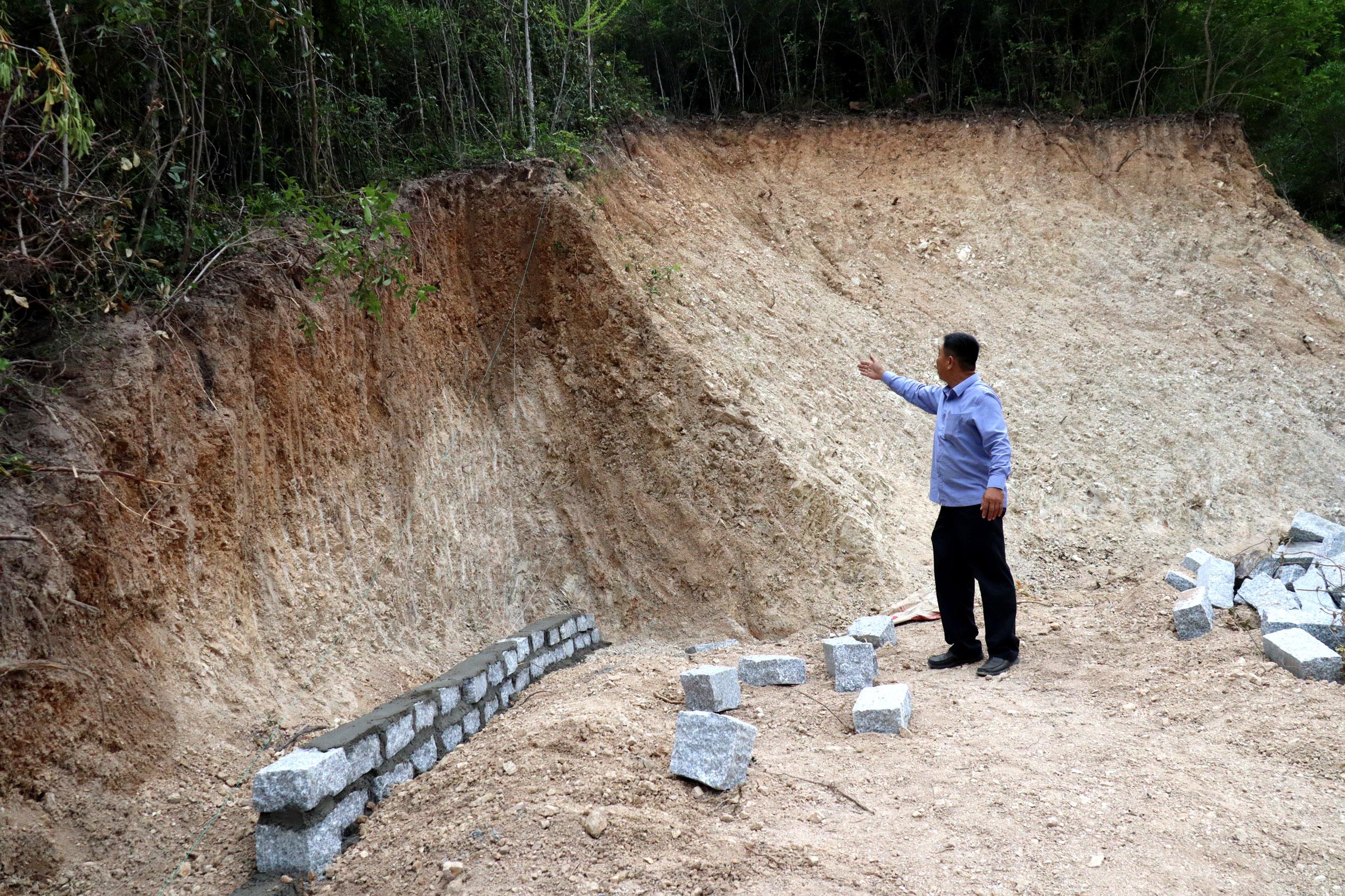 Nha Trang 'rộ' tình trạng san ủi đất rừng phân lô bán nền trái phép - Ảnh 3.