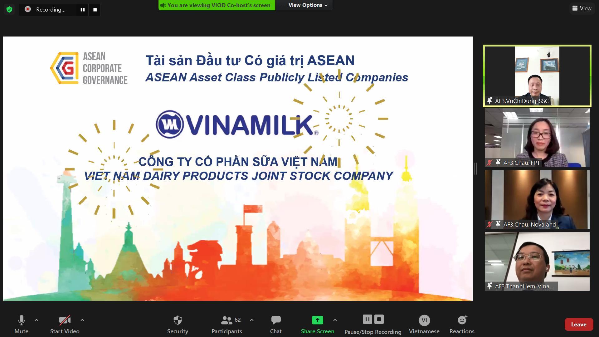 Vinamilk dẫn đầu tại Việt Nam và thuộc top Asean về quản trị công ty - Ảnh 1.