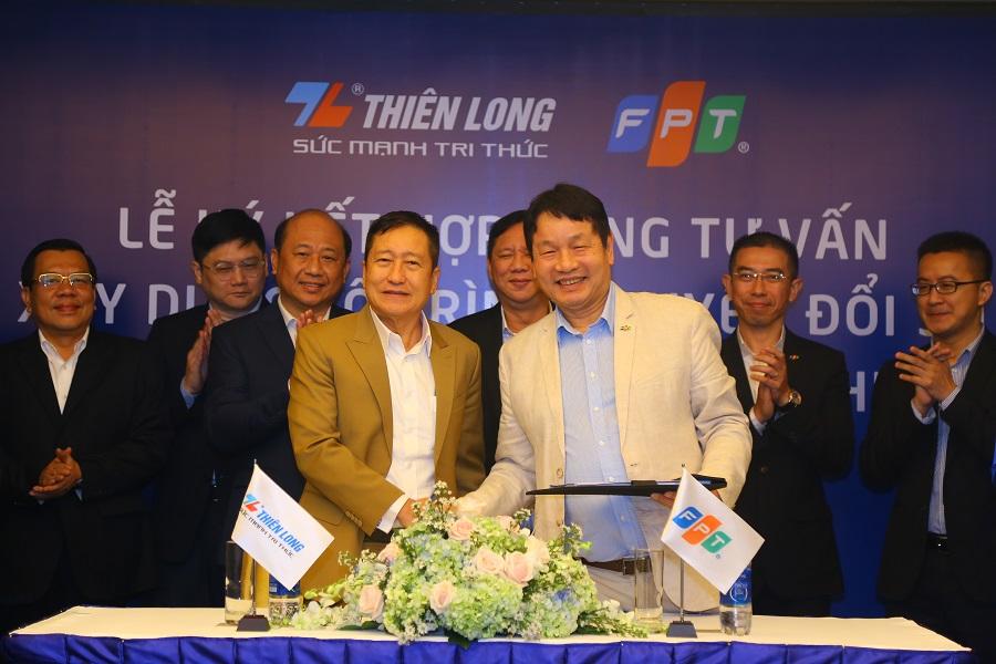 Thiên Long nhắm mục tiêu doanh thu 10.000 tỉ trong 5 năm sau kí kết chuyển đổi số với FPT - Ảnh 1.