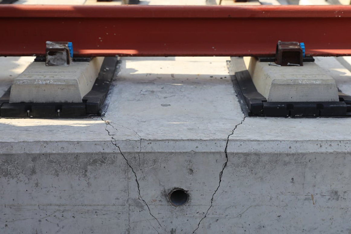 Sai hồ sơ thiết kế hai gối cầu tuyến Metro số 1