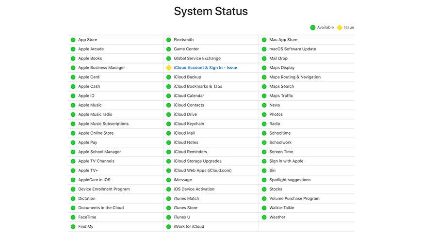 Apple gặp sự cố iCloud đêm Giáng sinh - Ảnh 1.