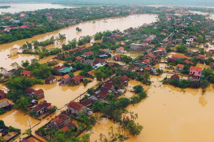 Thiên tai gây thiệt hại gần 39.100 tỷ đồng trong năm nay, gần 83% do bão, lũ