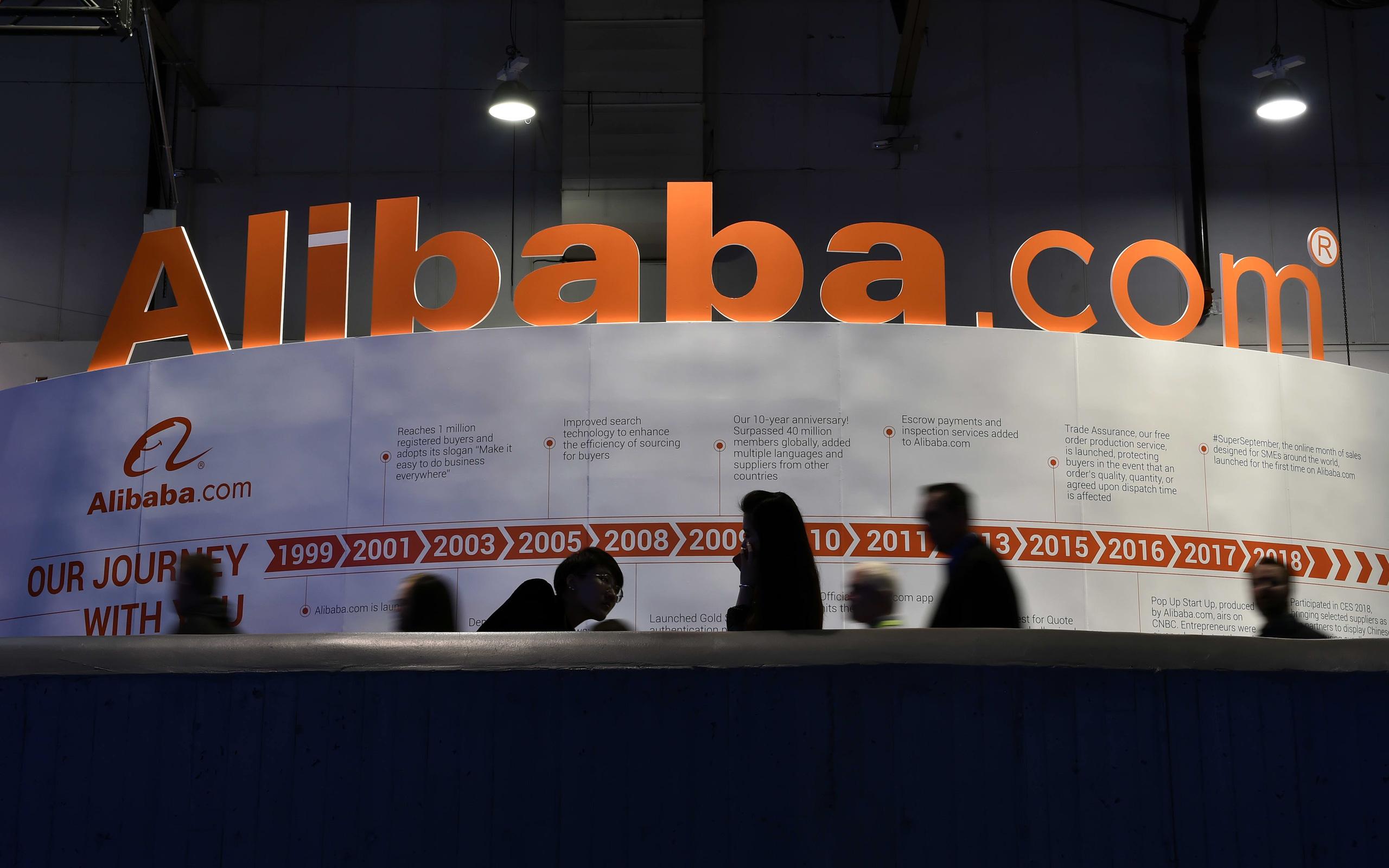 Cổ phiếu Alibaba giảm mạnh bất chấp chương trình mua lại cổ phiếu trị giá 10 tỷ USD - Ảnh 1.