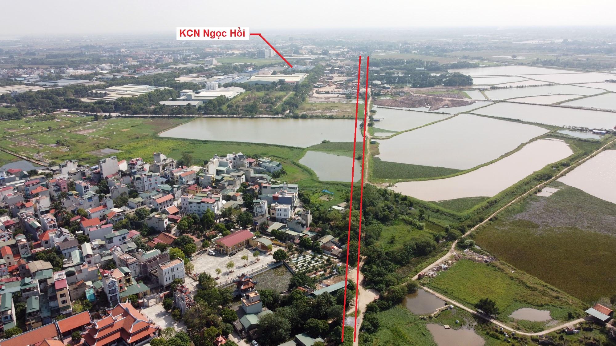 Ba đường sẽ mở theo quy hoạch ở xã Ngọc Hồi, Thanh Trì, Hà Nội - Ảnh 10.