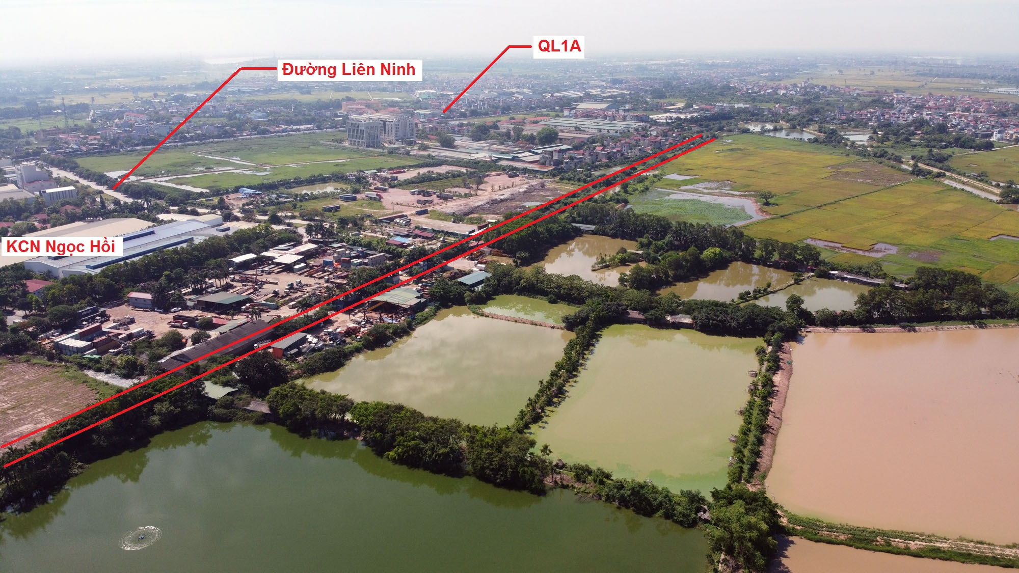 Ba đường sẽ mở theo quy hoạch ở xã Ngọc Hồi, Thanh Trì, Hà Nội - Ảnh 11.