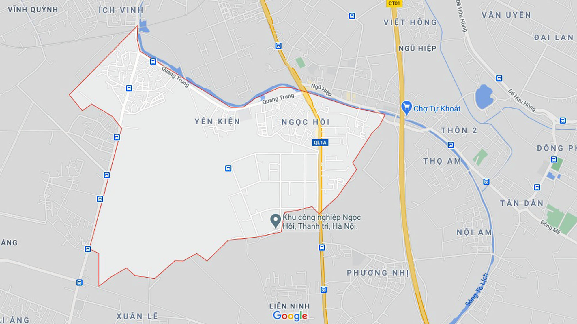 Ba đường sẽ mở theo quy hoạch ở xã Ngọc Hồi, Thanh Trì, Hà Nội - Ảnh 1.