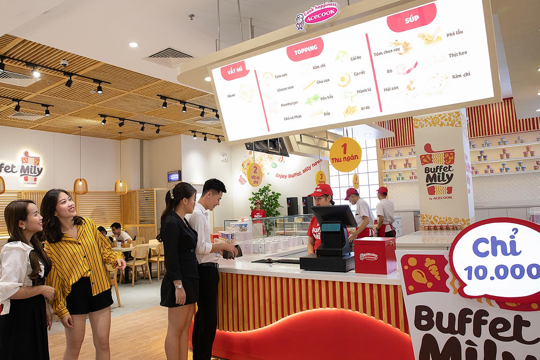 Nhà hàng buffet mì li của Acecook sẽ chính thức hoạt động vào ngày 19/12 - Ảnh 1.