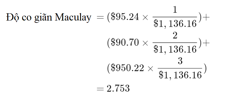 Thời gian đáo hạn bình quân điều chỉnh (Modified Duration) là gì? Đặc điểm - Ảnh 5.