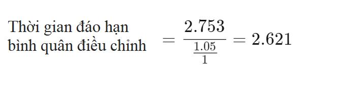 Thời gian đáo hạn bình quân điều chỉnh (Modified Duration) là gì? Đặc điểm - Ảnh 6.