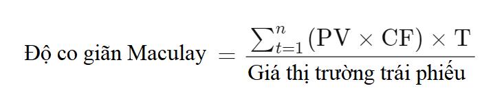 Thời gian đáo hạn bình quân điều chỉnh (Modified Duration) là gì? Đặc điểm - Ảnh 2.