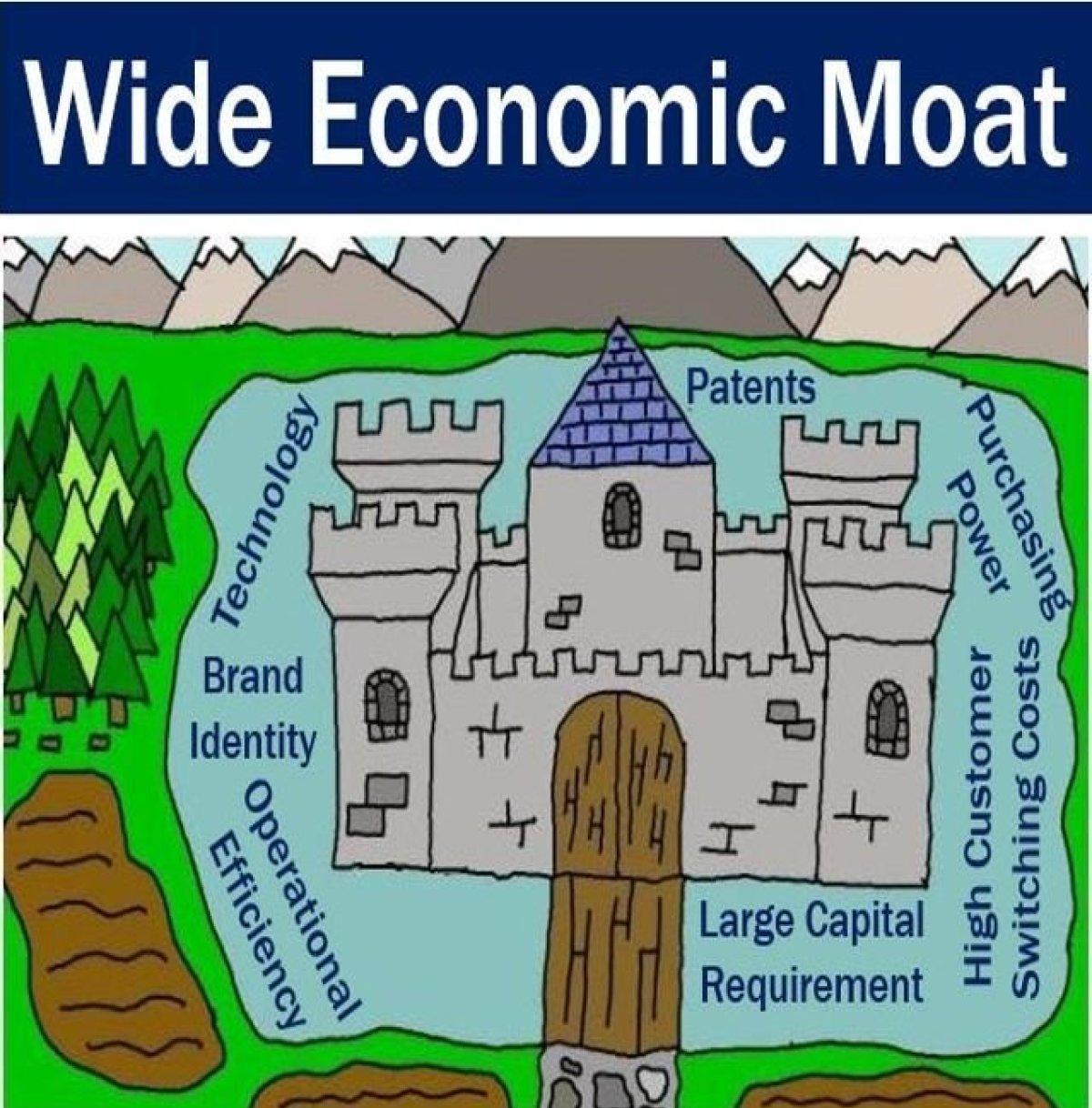 Mạng lưới của hào kinh tế là gì?