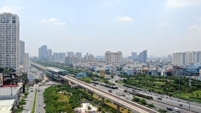 Cuộc đua của hàng loạt cao ốc 'đu bám' dọc tuyến Metro Bến Thành - Suối Tiên - Ảnh 5.