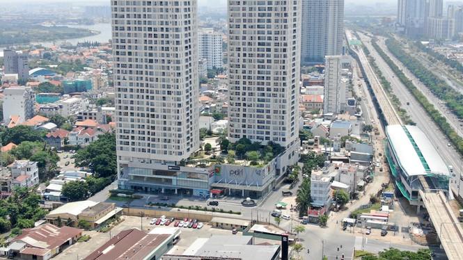 Cuộc đua của hàng loạt cao ốc 'đu bám' dọc tuyến Metro Bến Thành - Suối Tiên - Ảnh 9.