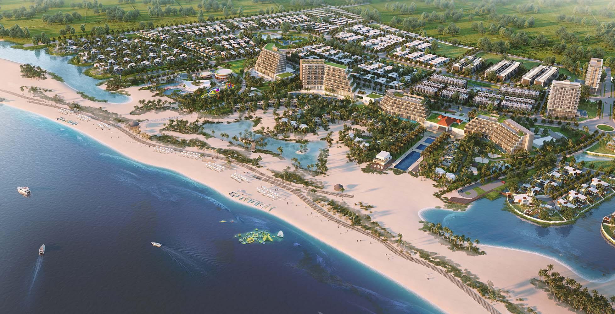 Một công ty in ấn tí hon muốn chi hơn 900 tỉ đồng thâu tón dự án nghỉ dưỡng Lạc Việt - Bình Thuận của DRH Holdings - Ảnh 1.