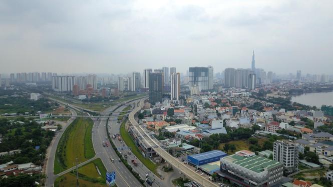 Cuộc đua của hàng loạt cao ốc 'đu bám' dọc tuyến Metro Bến Thành - Suối Tiên - Ảnh 10.