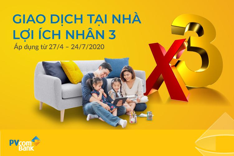 'Giao dịch tại nhà, lợi ích nhân 3' cùng PVcomBank - Ảnh 1.