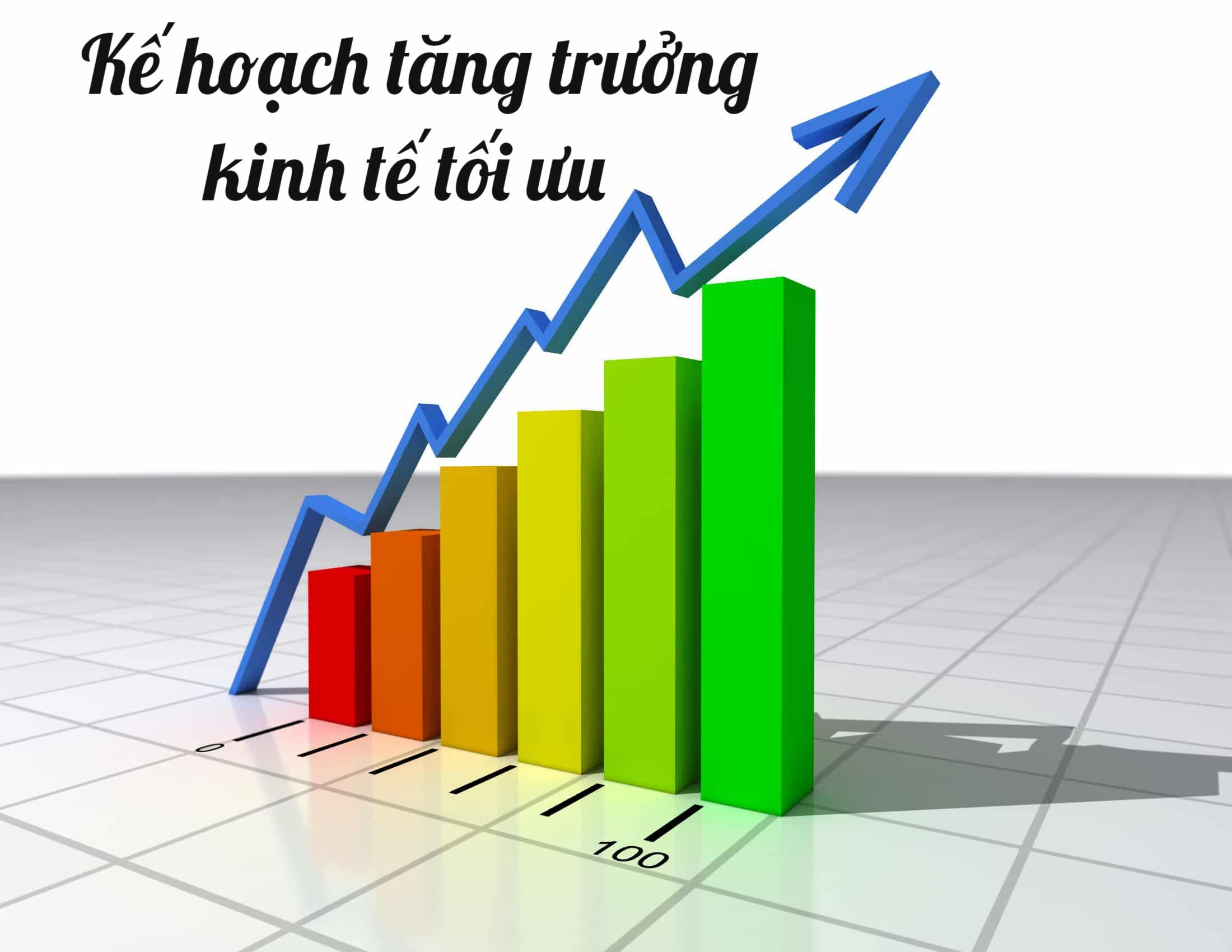 Kế hoạch tăng trưởng kinh tế tối ưu là gì? - Ảnh 1.