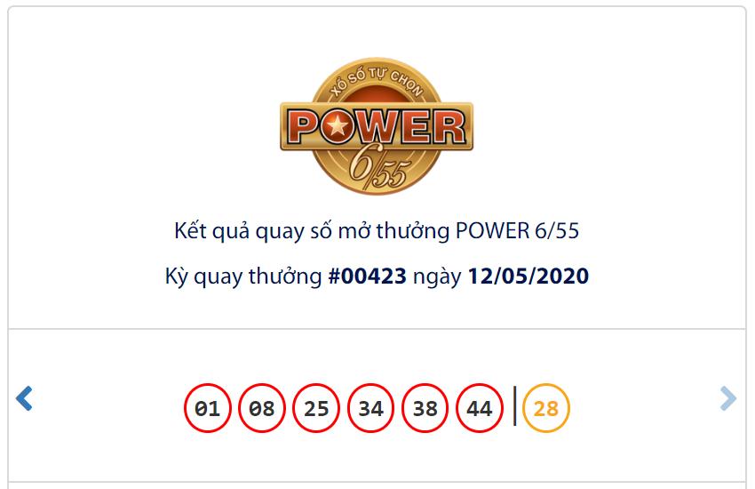 Kết quả Vietlott Power 6/55 ngày 12/5: Jackpot 1 chạm mốc 192,2 tỉ đồng 'nổ giòn' - Ảnh 1.