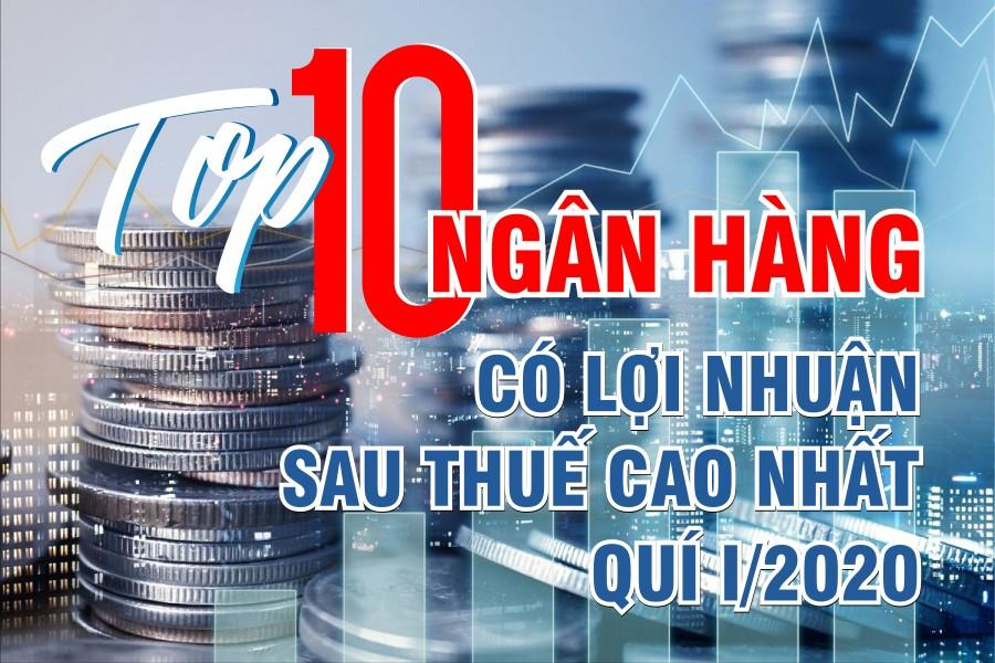 TOP 10 ngân hàng có lợi nhuận cao nhất quí I/2020 - Ảnh 1.