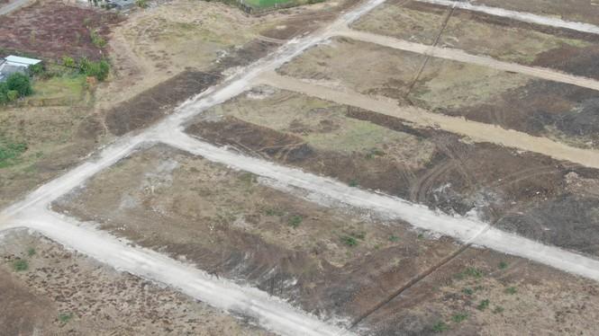 Cận cảnh khu đất ở Bà Rịa - Vũng Tàu đang bị kiểm tra vì bán đất nền kiểu Alibaba - Ảnh 21.