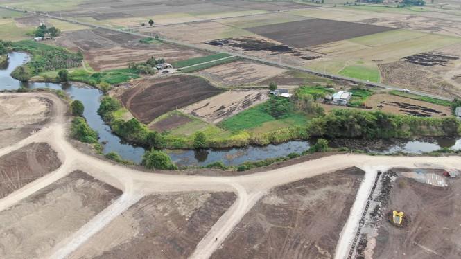 Cận cảnh khu đất ở Bà Rịa - Vũng Tàu đang bị kiểm tra vì bán đất nền kiểu Alibaba - Ảnh 23.