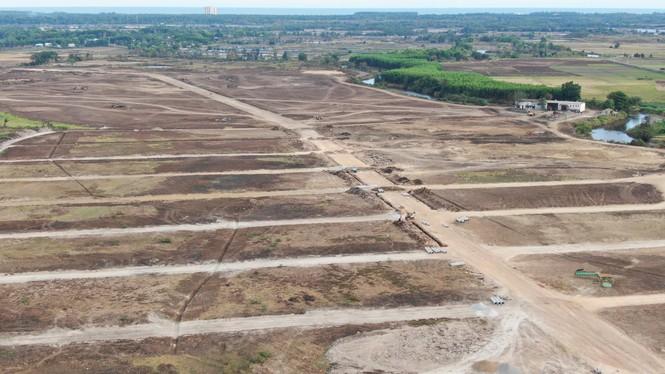 Cận cảnh khu đất ở Bà Rịa - Vũng Tàu đang bị kiểm tra vì bán đất nền kiểu Alibaba - Ảnh 15.