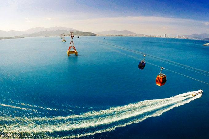 Sau tuyến cáp treo vượt biển dài hơn 3.300 m, Vingroup đề xuất làm cầu ra đảo Hòn Tre - Ảnh 1.