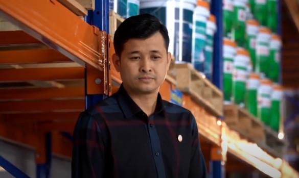 Ông Mai Văn Hiền, tổng giám đốc công ty Cổ phần Quốc tế AIG.