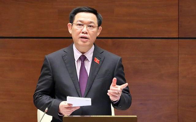 Quốc hội sẽ miễn nhiệm chức vụ Phó thủ tướng của ông Vương Đình Huệ - Ảnh 1.