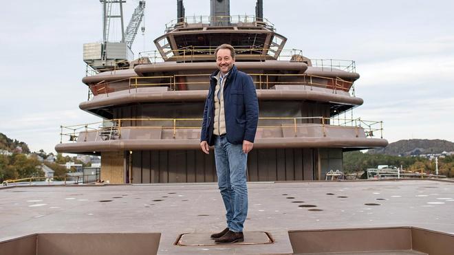 Tỷ phú dầu mỏ đóng du thuyền lớn nhất hành tinh - Ảnh 3.