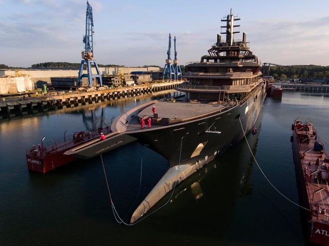 Tỷ phú dầu mỏ đóng du thuyền lớn nhất hành tinh - Ảnh 2.