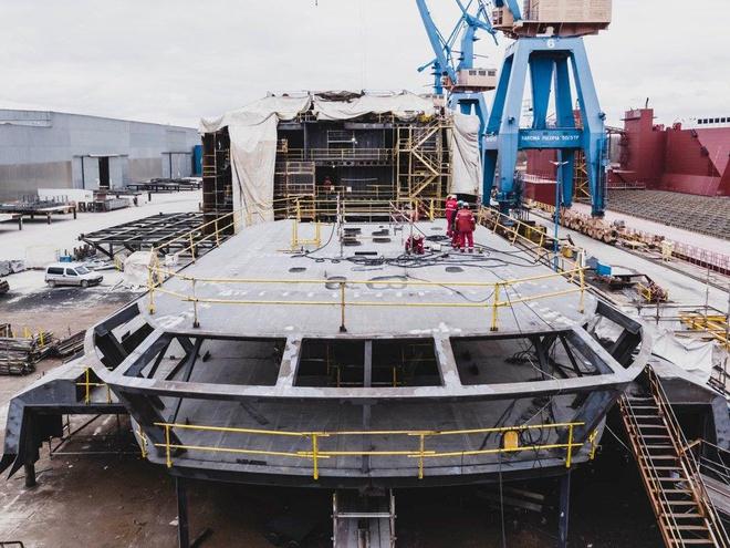 Tỷ phú dầu mỏ đóng du thuyền lớn nhất hành tinh - Ảnh 8.