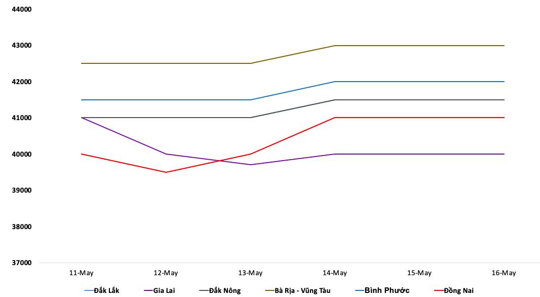 Giá cà phê hôm nay 17/5: Biến động trong suốt tuần qua, giá tiêu tăng vọt - Ảnh 2.