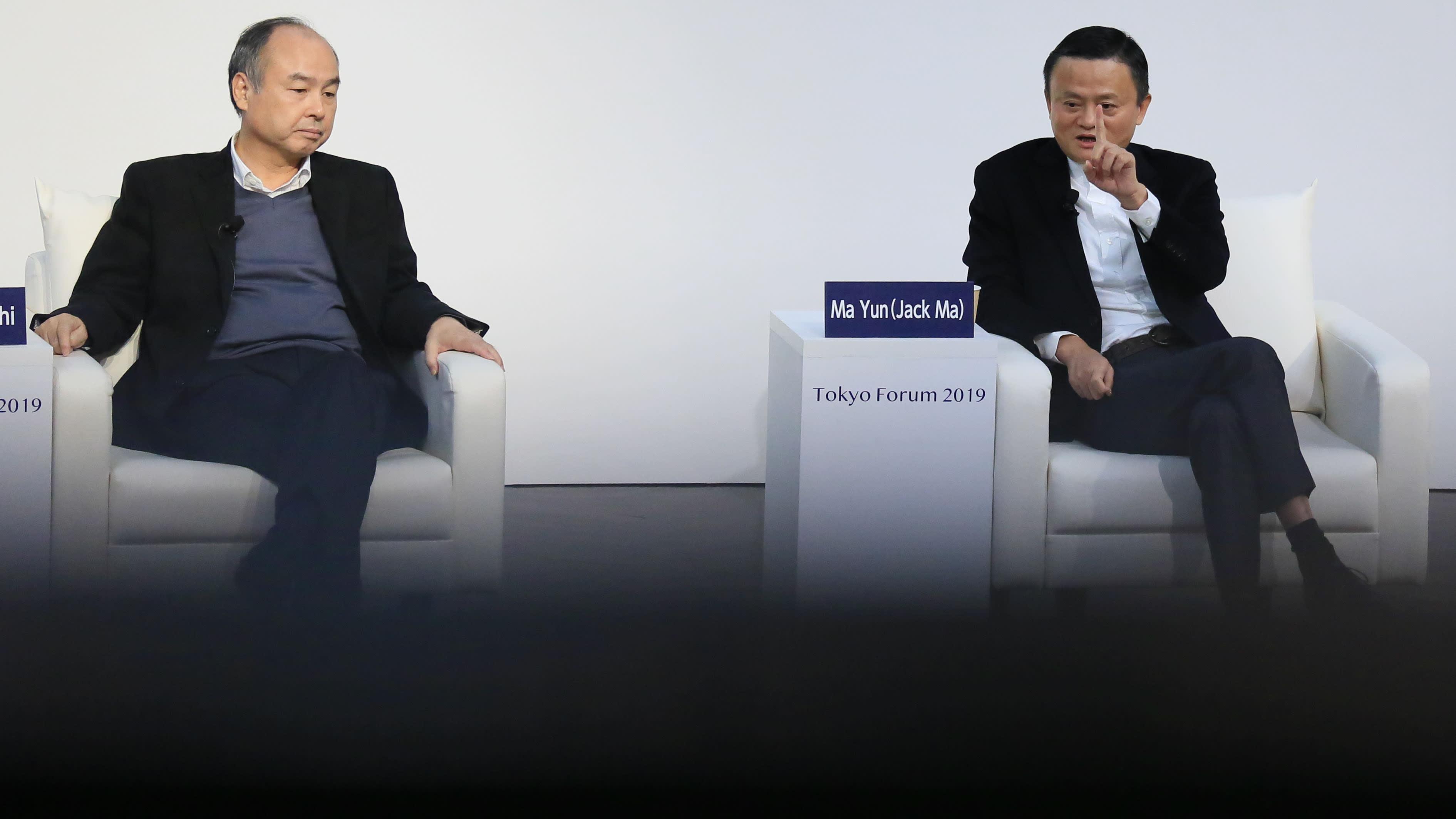 Vừa mất ngôi giàu nhất Trung Quốc, Jack Ma chia tay SoftBank sau 13 năm gắn bó - Ảnh 1.
