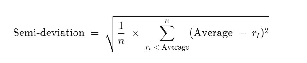 Nửa độ lệch chuẩn (Semi-Deviation) là gì? Công thức tính Nửa độ lệch chuẩn - Ảnh 2.