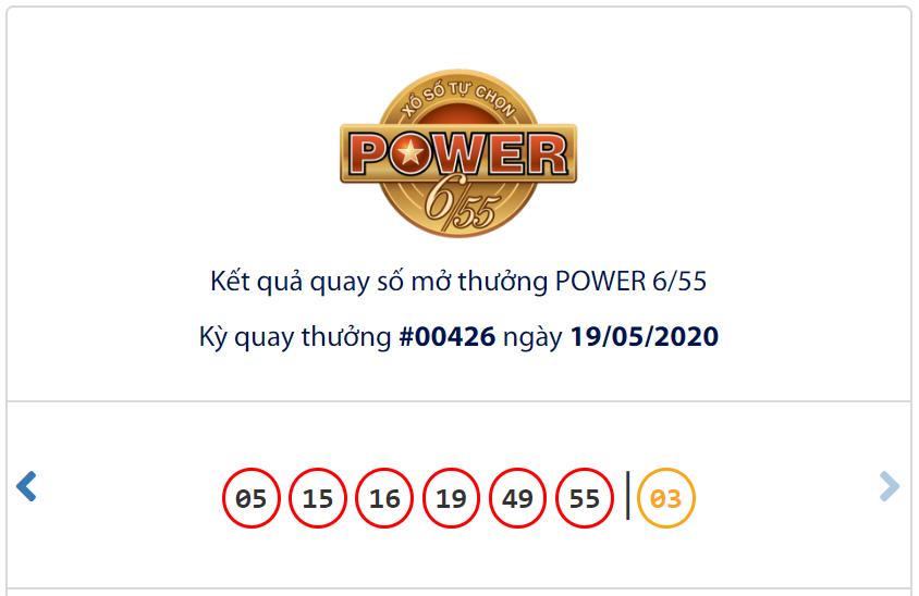 Kết quả Vietlott Power 6/55 ngày 19/5: Cả hai giải jackpot vẫn thiếu chủ nhân - Ảnh 1.