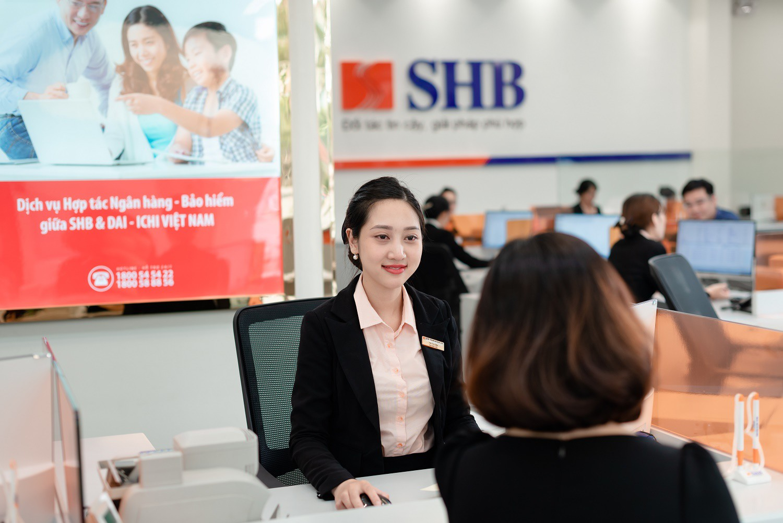 Hoạt động cho vay tăng trưởng tốt, SHB báo lãi trước thuế gần 780 tỉ đồng trong quí I - Ảnh 1.