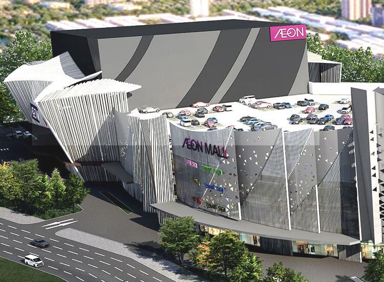 Tập đoàn Aeon làm dự án bãi đỗ xe kết hợp với TTTM tại quận Hoàng Mai - Ảnh 1.