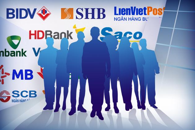 TOP 10 ngân hàng có nhiều nhân viên nhất cuối quí I/2020 - Ảnh 1.